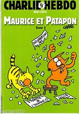 CHARLIE HEBDO hors-serie n°19 ¤ MAURICE ET PATAPON tome 3 ¤ CHARB 2005