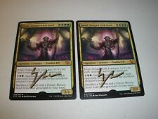 MTG Magic Signed Artist Proof Jarad, Golgari Lich Lord x2 Commander 2015 LP-NM