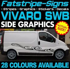 VAUXHALL VIVARO SWB GRAPHICS STICKERS STRIPES CAMPER VAN MOTORHOME CONVERSION D