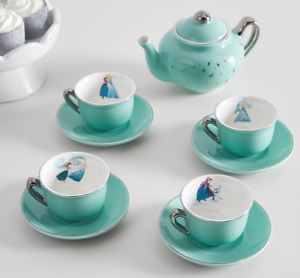 Pottery Barn Kids Porcelain Disney FROZEN Tea Set NEW