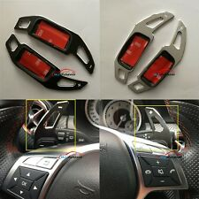 Alloy Extend Shifter Paddle Trim For Mercedes-Benz C Class W204 2011 2012 2013
