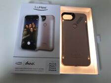 LuMee Duo Cell Phone Case for iPhone 8 (fits iPhone 7,6,6s) Illuminated LED NEW