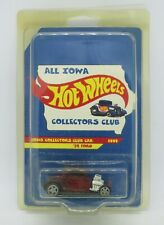 All Iowa Hot Wheels Collectors Club Car -1932 Ford