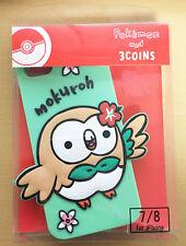 PAL Co., Ltd. Pokemon x 3 Coins Rowlet Mokuroh iPhone Silicon Case 2277834054860