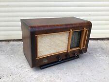 Ancien POSTE RADIO TSF à Lampes 1950 Vintage Marque AUTUN RADIO J.MILLERET - TBE