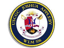 "4"" uscgc coast guard joshua appleby WLM-556 insignia sticker decal"