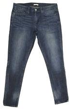 Levi's Jeans Stretch 'BOYFRIEND SKINNY' Indigo EUC RRP $179 Womens Size W28 L32