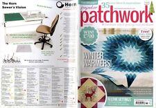 Patchwork popular revista 2014 Nov-Calentadores de invierno, configuración de festivo
