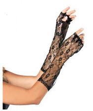 Mitaines longue noires en dentelle [302190noir] dance princesse costume fetes