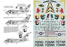 MICROSCALE DECALS 1/72 S-3A Viking VS-29 Dragonfires Bicentennial VS-37 38 (USN)