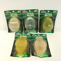 5: Star Wars Galactic Glycerin Soaps w/ Action Figure Gift Inside ©1999