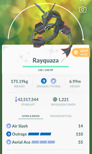 Pokemon Shiny Rayquaza - Maxed CP unlock 3 moveset for pvp Master - Trade