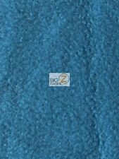 "SOLID POLAR FLEECE FABRIC (ANTI-PILL) - Green Blue - 60"" WIDE SOLD BY YARD"