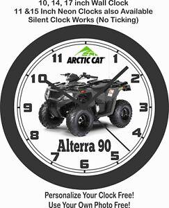 2020 ARCTIC CAT ALTERRA 90 ATV WALL CLOCK-FREE USA SHIP
