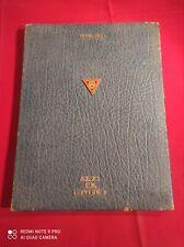 Rare Livre D'Or Brigade Piron au général Vandezande EM Secteur C 1947-31cmX41cm