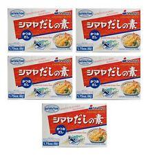 Dashi Bigpack : 5 X 50g Shimaya Dashino Moto Würzmittel pour Soupe Miso Fischsud