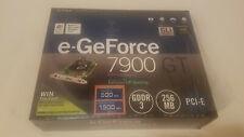 EVGA e-GeForce 7900 GT 256 MB SLI video card PCI-E