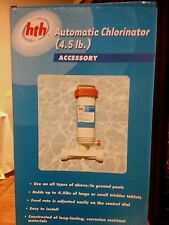 Above/In Ground Pool HTH Automatic Chlorinator 4.5 Lb. NEW