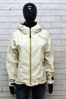 Giacca da Donna Colmar Taglia 44 Cappotto Corto Nylon Beige Jacket Woman Casual