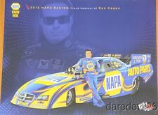 2013 Ron Capps Napa Dodge Charger Funny Car NHRA postcard