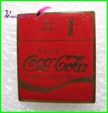 Pin's pins Badge Coca Cola ENJOY Numéro 1  #H3