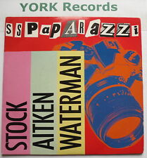 "STOCK AITKEN WATERMAN - SS Paparazzi - Excellent Condition 7"" Single PWL 22"