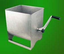 New Extra Large Commercial Stainless Steel Hand Meat Mixer Processor Deer 50lbs