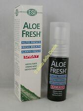 ESI Spray Alito fresco ALOE Fresh 15ml menta forte fresh breath mint aliento