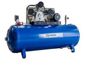 Remeza Druckluft Kompressor 5,5 kW/400 Volt/10 bar/500 l Liter Kessel, 950 l/min