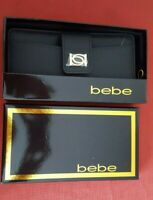 🎁❤️Bebe Lupe Black Wallet MSRP $49.00 New with Original box & tag