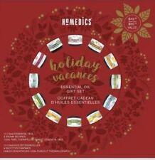 NEW HOMEDICS Holiday Blends Essential Oil Gift Set 12 Bottles