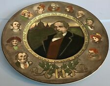 Royal Doulton Character Plate Charles Dickens Excellent 10� Made In England