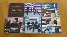 Wet Wet Wet CD Single Set 5: Maybe I'm, Yesterday, Strange, If I Never - Limited