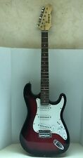 Mahar Student Model Red Electric Guitar - Strat style - USED WORKING CONDITION