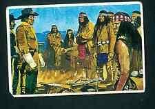 "Figurina Edis ""La Vera Storia del West"" n.347 La campagna contro i Navajo!"