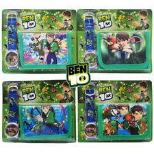 NEW BEN 10 KID CHILD ACCESSORIES WRIST WATCH & WALLET ELECTRONIC GIFT TOY