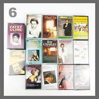 15 Vintage Cassette Tapes Case Bundle Collection Job Lot Retro Various Artists 6