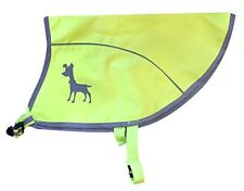 Alcott Essentials Visibility Dog Vest Medium Neon Yellow with Reflective Accents