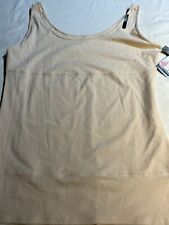 US X-Small Yummie BLUSH Boyfriend Yummie Tummie 3-Panel Shaping Tank Top