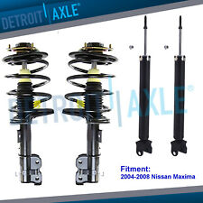 Front Struts  Assembly + REAR SHOCKS for 2004-2006 2007 2008 Nissan Maxima