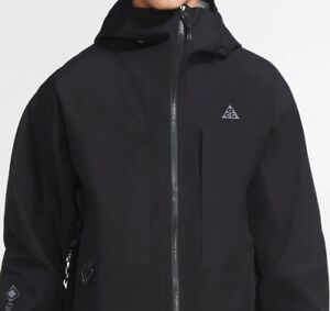 Nike ACG Gore-Tex Misery Ridge Jacket Mens Black Hooded Waterproof CV0634-010