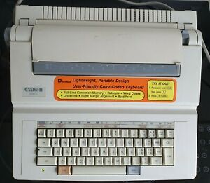Canon MX70 Electric Typewriter