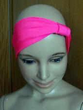 2 x hübsches Stirnband - Haarband Pink neu