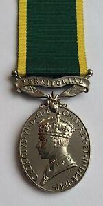 Territorial Efficiency George VI Medal