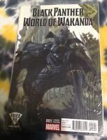 BLACK PANTHER / WORLD OF WAKANDA #1 *fried pie variant cover (2017) - Marvel
