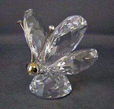 SWAROVSKI Crystal Farfalla Grande V3 ORO faccia 010002 Nuovo di zecca Boxed RITIRATO RARO