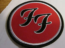 Foo Fighters Collectable Rare Vintage Patch Embroided Metal