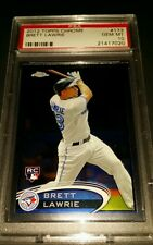 2012 Topps Chrome #173 - Brett Lawrie Rookie Card! PSA GEM MINT 10!