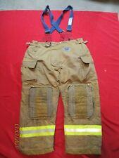 Mfg 2012 Morning Pride 44 X 30 Fire Fighter Turnout Pants Bunker Gear Suspenders