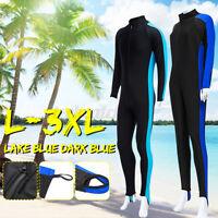 Men Full Body Wetsuit Diving Snorkeling Surfing Scuba Suit Jumpsuit Long Sleeves